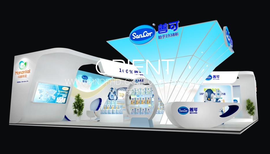长沙展台设计展览设计东方绘达
